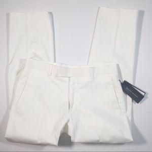 Ralph Lauren Pants - Ralph Lauren White Stretch Cotton Pants